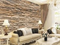 17 Fascinating 3D Wallpaper Ideas To Adorn Your Living Room for Wallpaper Decoration For Living Room
