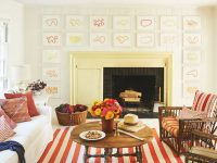 20 Ways To Decorate With Orange And Yellow – Coastal Living for Yellow Walls Living Room Interior Decor