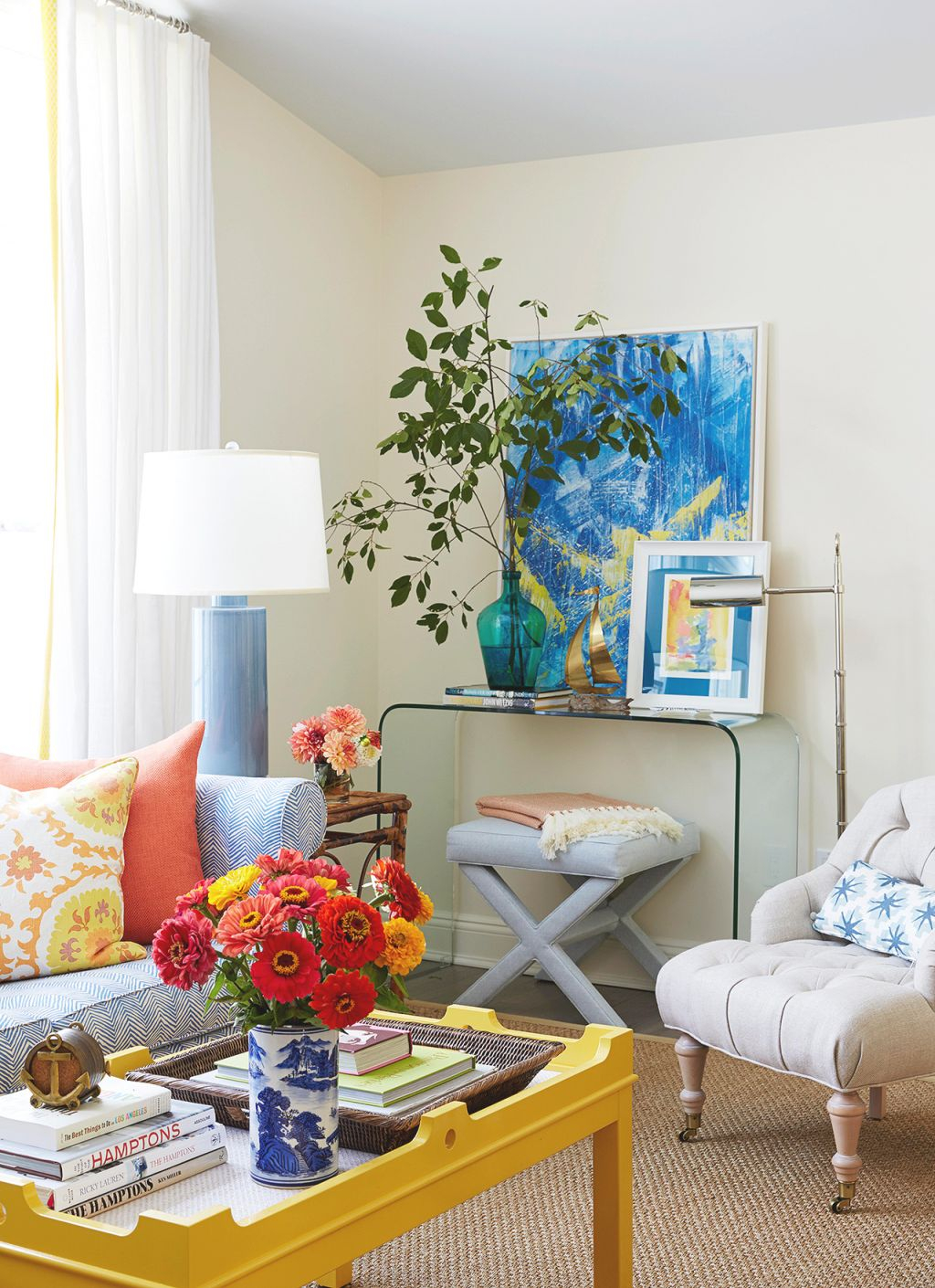 25 Cheery Ways To Use Yellow In Your Decor inside Unique Yellow Walls Living Room Interior Decor
