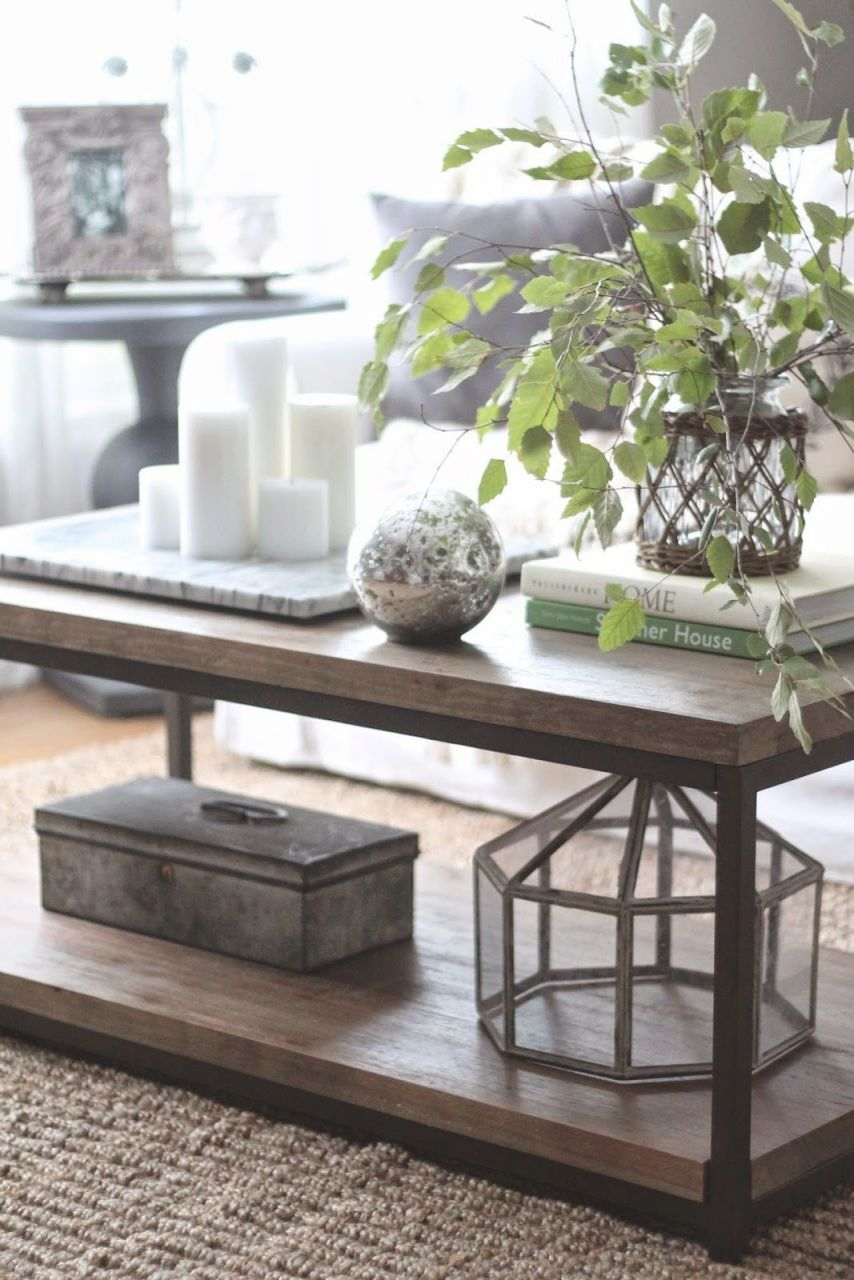 3 Ways To Style A Coffee Table | Decorating Coffee Tables with regard to Living Room Coffee Table Decorating Ideas