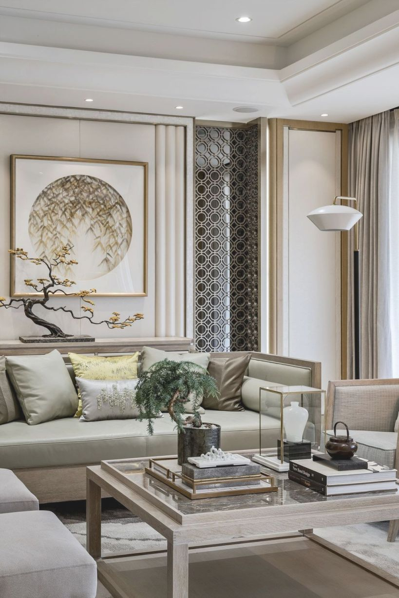 50 Cozy And Elegant Chinese Living Room Decoration Ideas throughout Chinese Living Room Decor