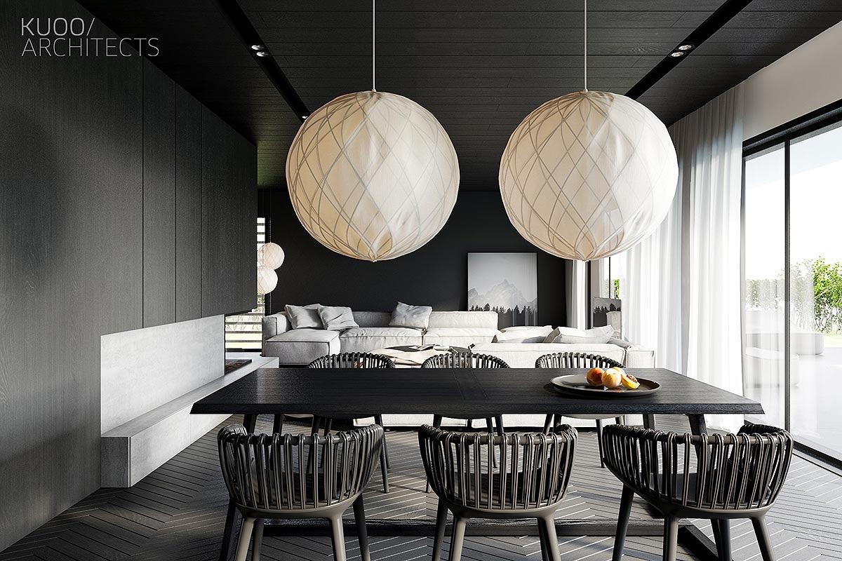 Black-dining-room-ideas