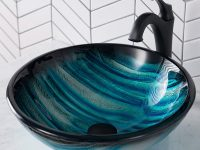 Blue-Glass-Bowl-Sink-Blue-Glass-Vessel-Bathroom-Sink-Affordable