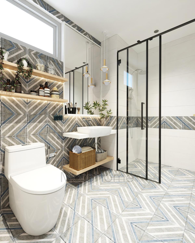 Blue-grey-white-modern-bathroom-design