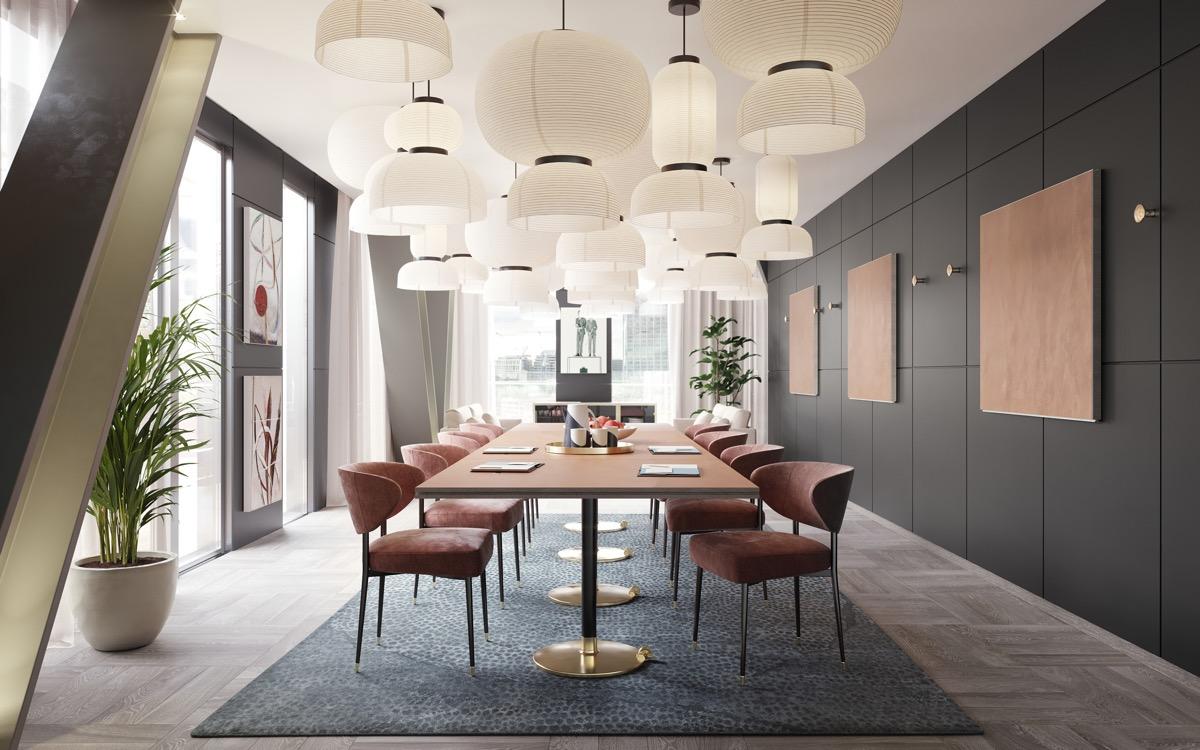 Brown-dining-set