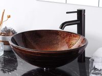 Contemporary-Tempered-Glass-Patterned-Round-Bathroom-Sink-Brown