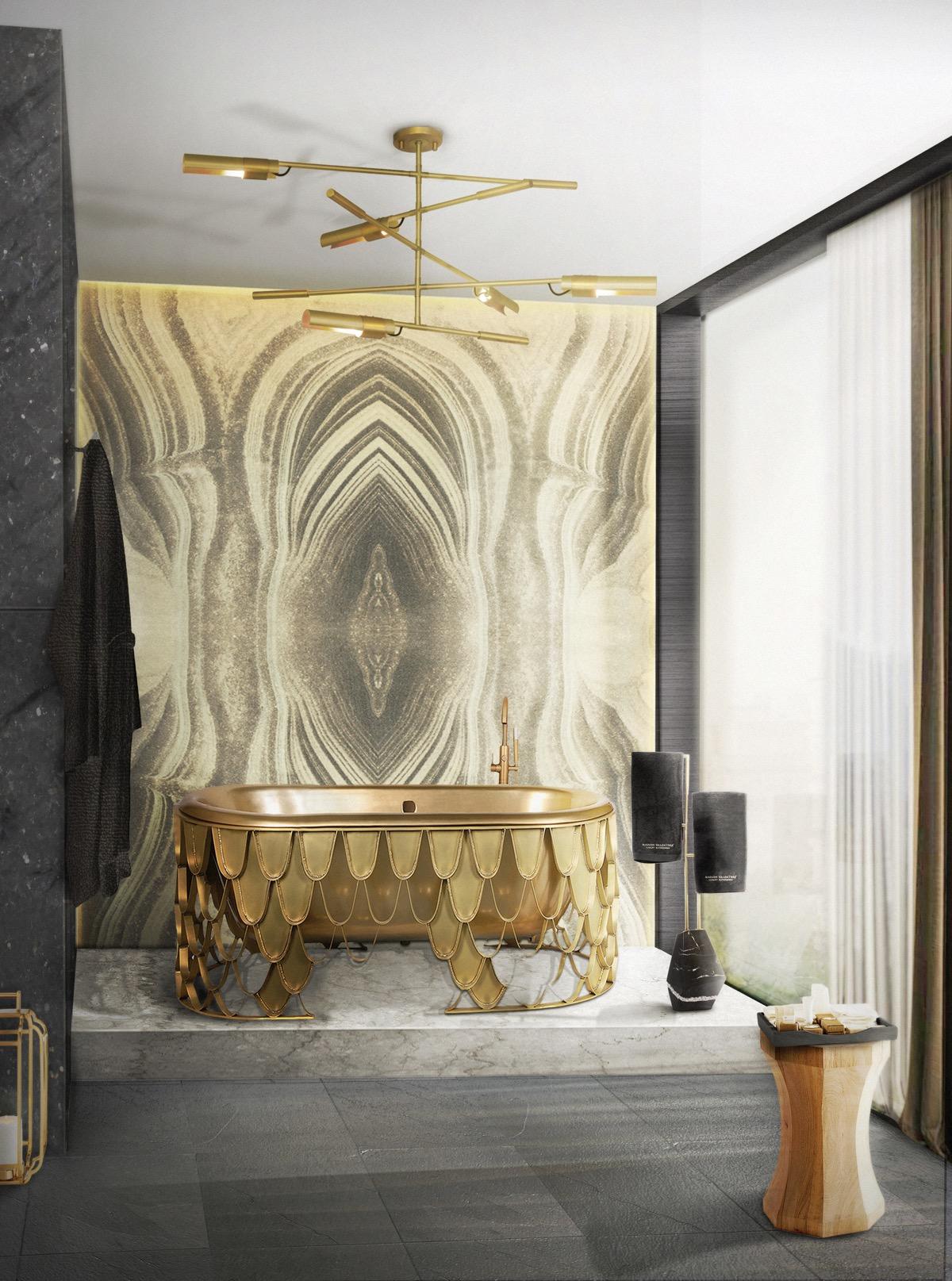 Gold-bathtub
