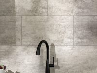 Gray-Tiles-On-Bathroom-Wall-Interlocking-Vinyl-Wall-Tiles-DIY