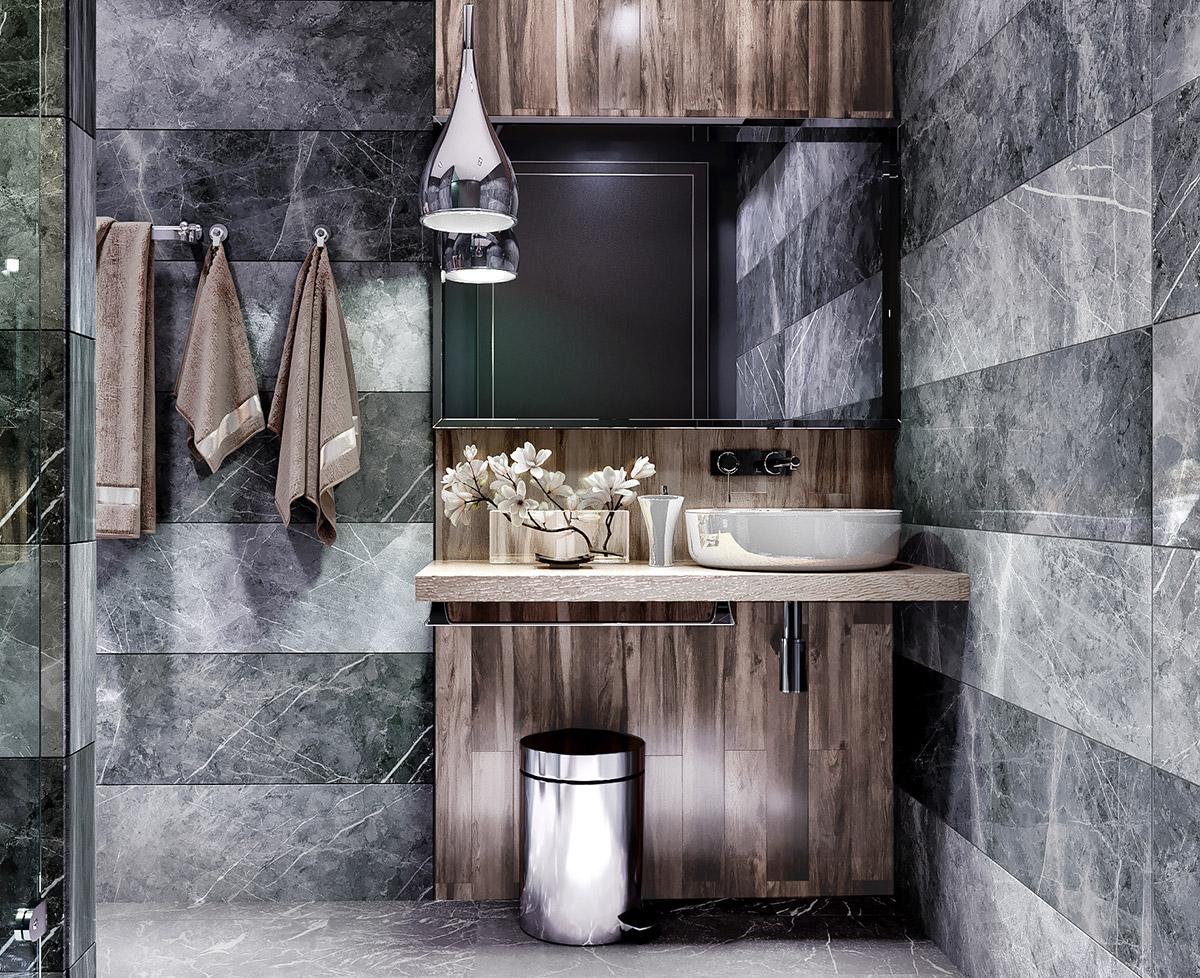 Grey-wood-taupe-modern-bathroom