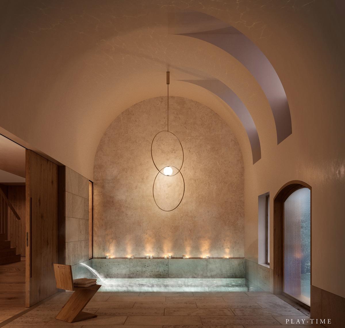 Luxury-bathroom-waterfall-tap