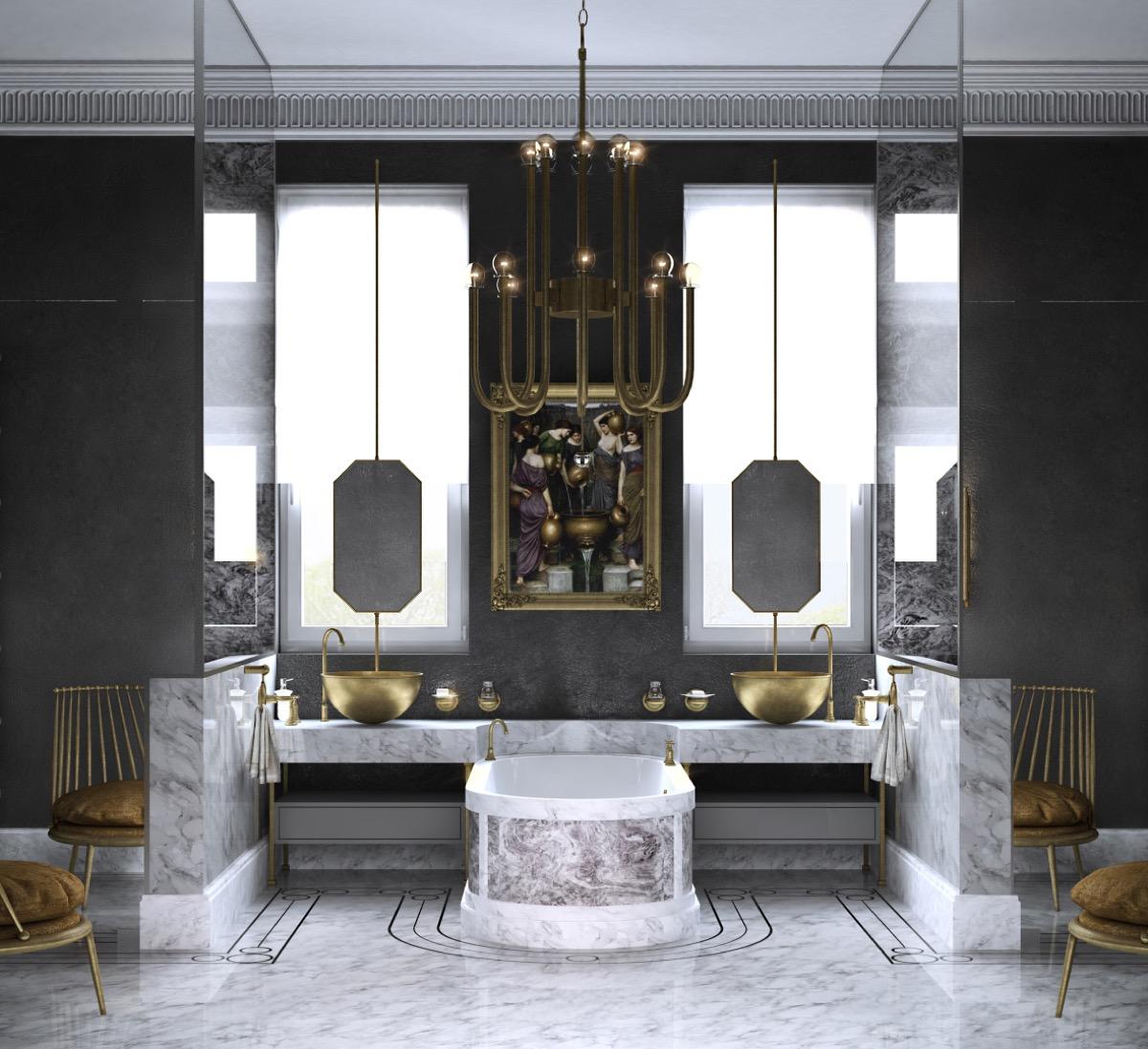 Luxury-twin-vanity-bathroom