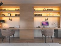 Minimalist-double-workspaces