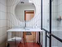 Mirrored-modern-vanity-unit