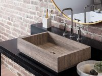 Rectangular-Brown-Stone-Bathroom-Sink-Modern-Brown-Natural-Marble-Sink