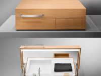 Unique-Luxury-Bathroom-Sink-In-A-Suitcase-Wood-Hidden-Console-Sink