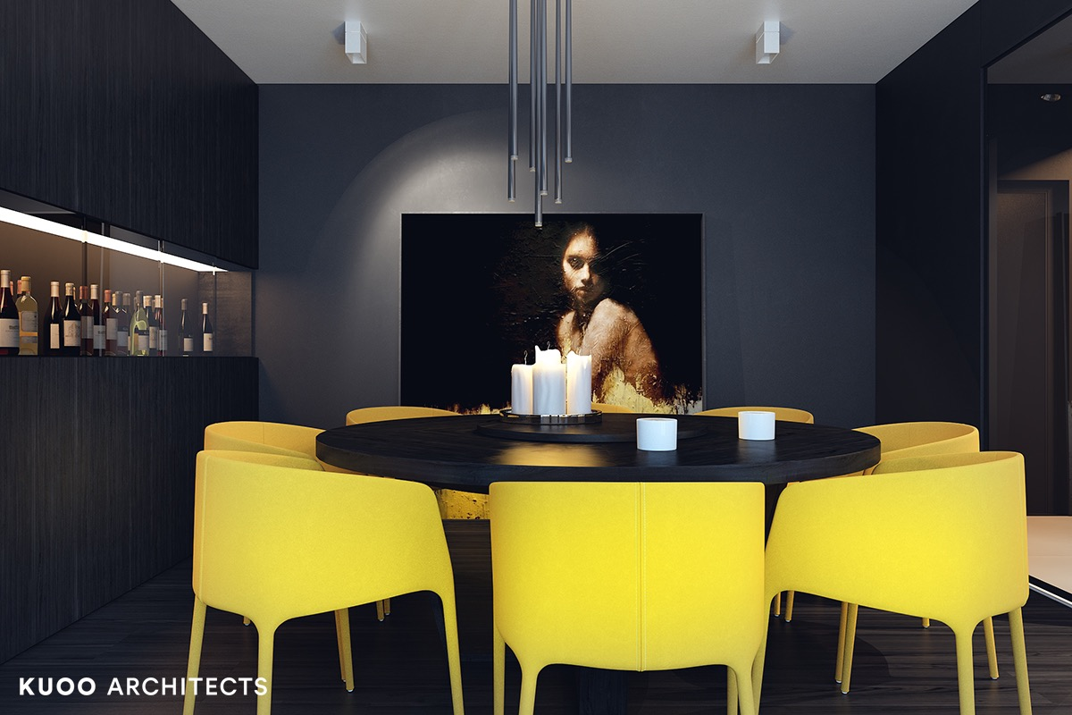 Yellow-modern-dining-chairs