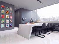 artwork-grid-snowy-pines-monochrome-dining