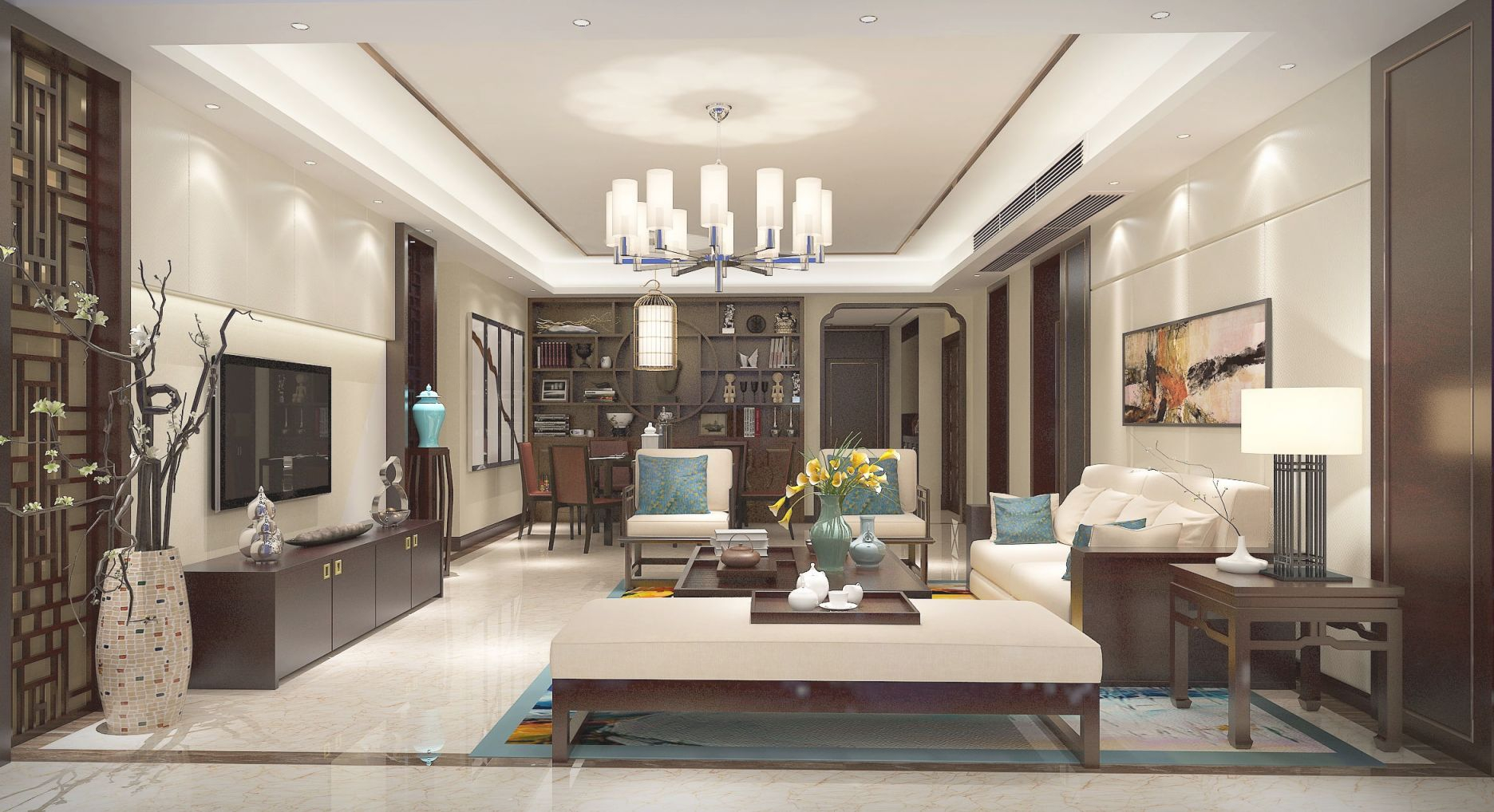 Asian Inspired Living Room awesome chinese living room decor - awesome decors