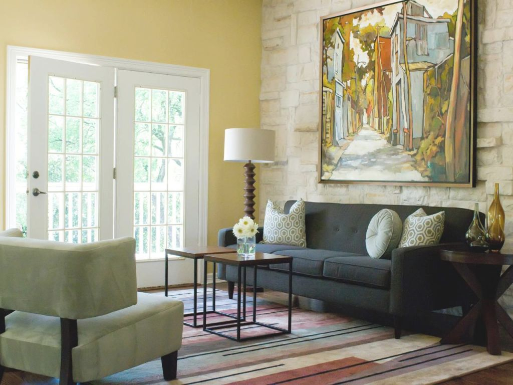 Behind The Color Yellow | Hgtv within Unique Yellow Walls Living Room Interior Decor