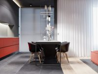 black-and-red-kitchen-diner