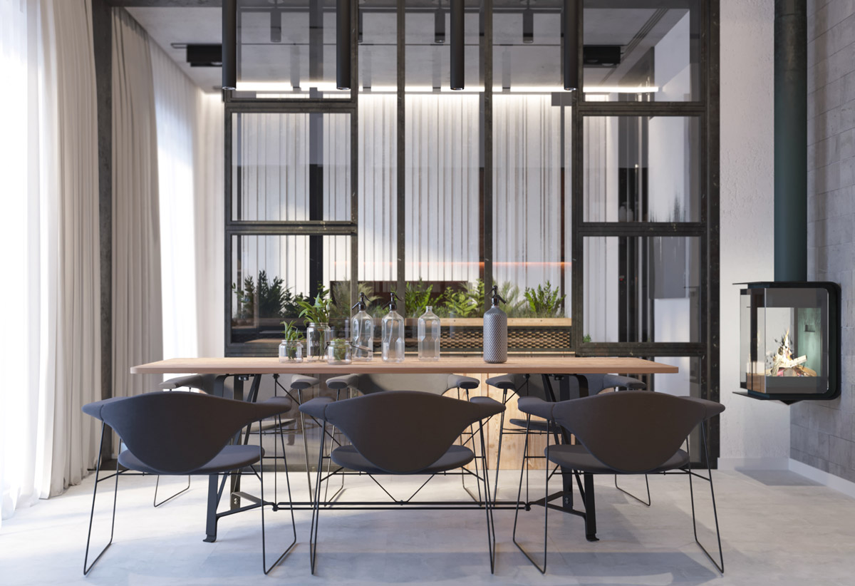 black-grey-and-stencil-modern-dining-room-1