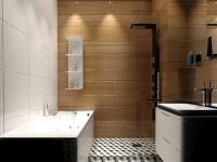 black-white-and-wood-bathroom