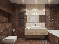 brown-and-cream-bathroom-theme
