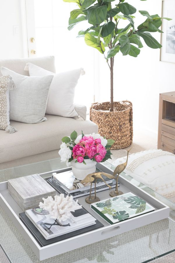 Coffee Table Decor: Ideas & Inspiration | Drivendecor inside Lovely Living Room Coffee Table Decorating Ideas