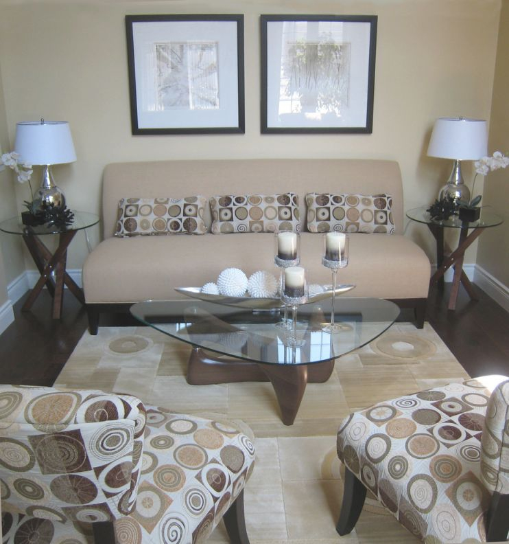 Coffee-Table-Decorations-Hall-Contemporary-With-Art-Chair within Lovely Living Room Coffee Table Decorating Ideas