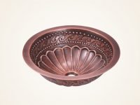 copper-bathroom-sink-round-drop-in-bowl-sink-with-embossed-pattern