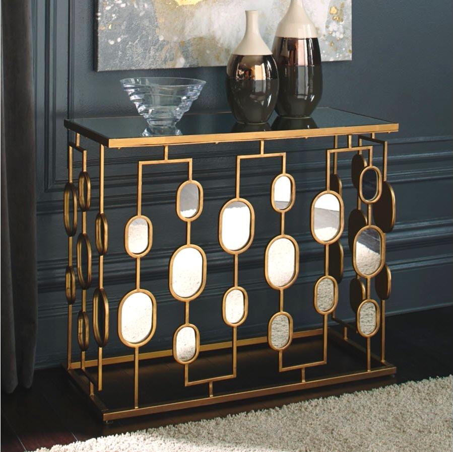 creative-art-deco-mirror-console-table-sophisticated-interior-design-ideas
