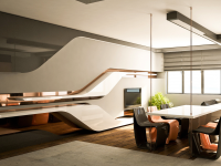 curved-panel-hanging-table-dining-room