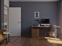 dark-gray-home-office-design