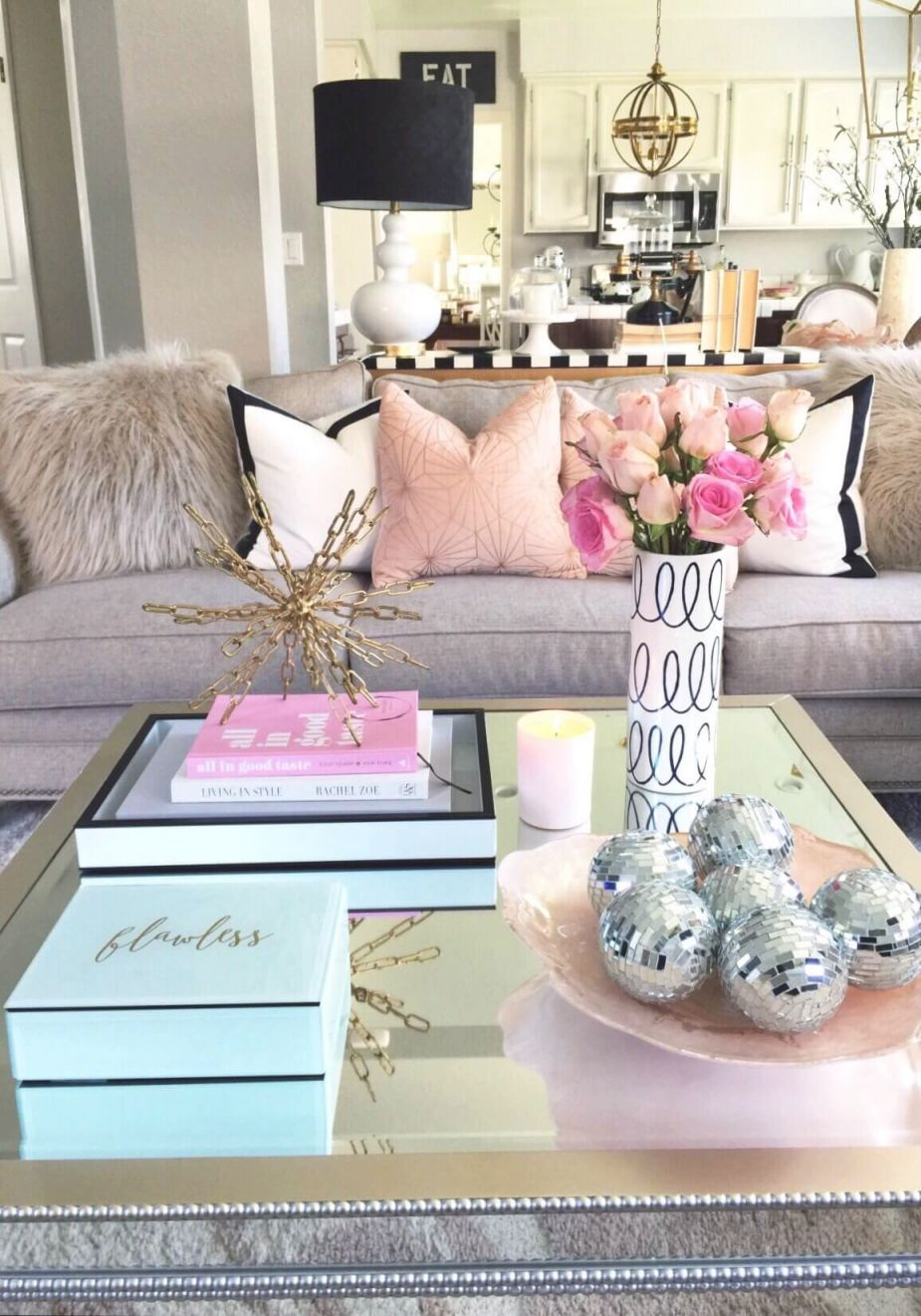 Decorate With Style: 16 Chic Coffee Table Decor Ideas with Living Room Coffee Table Decorating Ideas