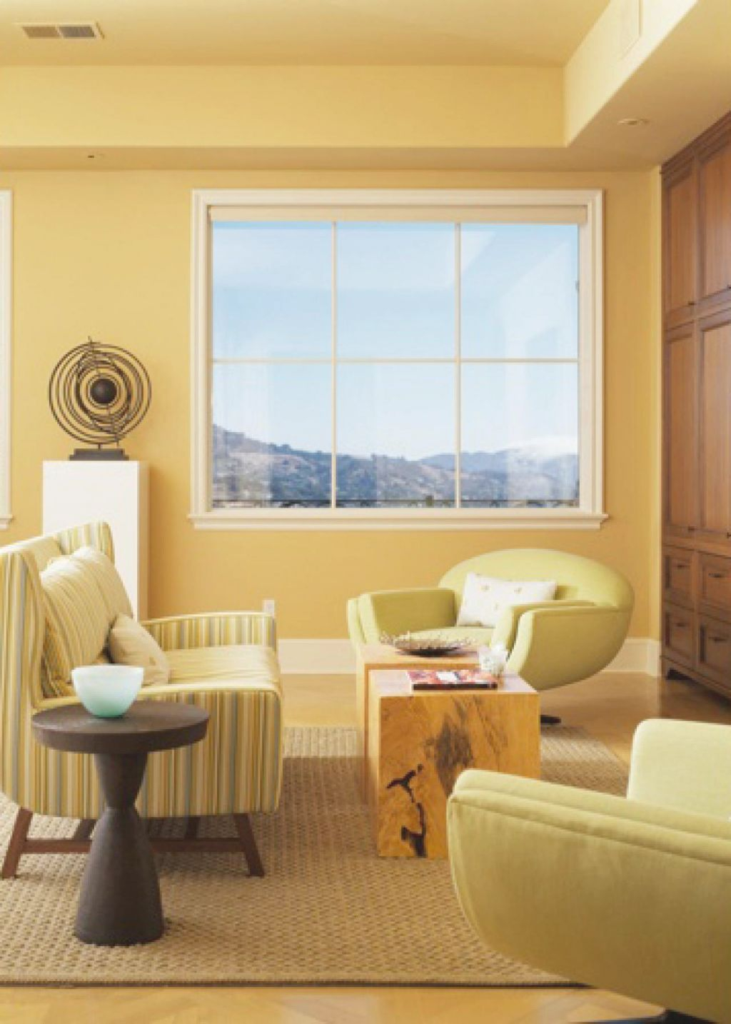 Decorating With Sunny Yellow Paint Colors | Hgtv for Unique Yellow Walls Living Room Interior Decor