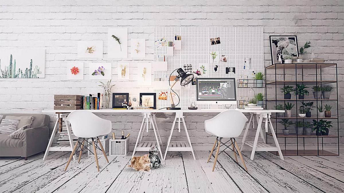 double-desk-setup