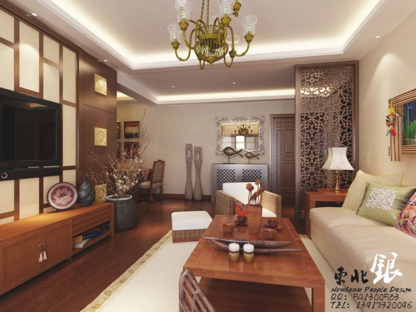 East Meets West: An Exercise In Interior Adaptation [100 within Awesome Chinese Living Room Decor