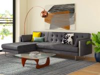 grey-sleeper-sectional-with-metal-accents-and-long-chaise