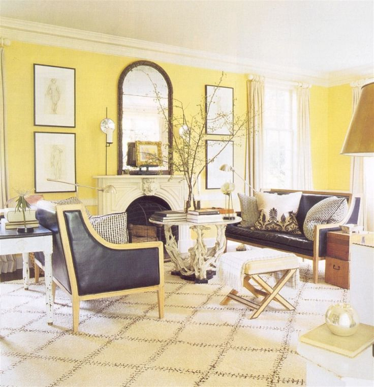 Grey Sofa Yellow Walls Cool-Decorate-Yellow-And-Gray-Modern with regard to Yellow Walls Living Room Interior Decor