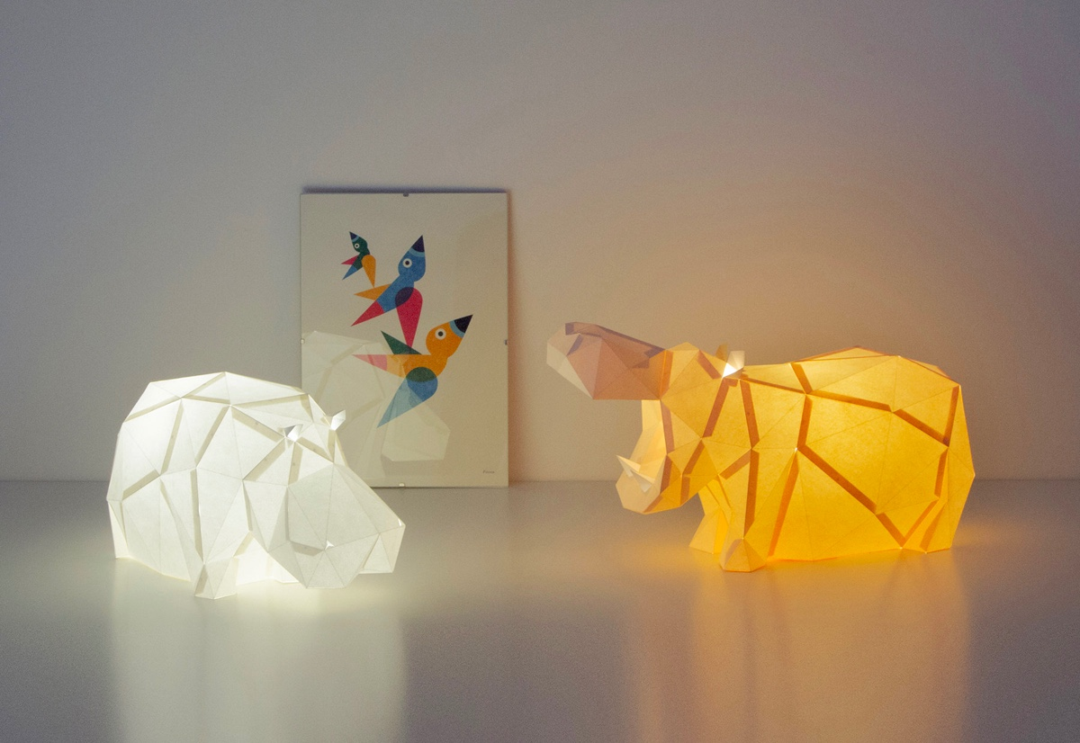 hippo-lamps