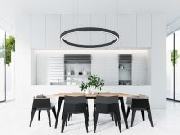hollow-circle-chandelier-monochrome-dining-room
