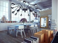 industrial-dining-room-lighting