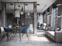 industrial-dining-set