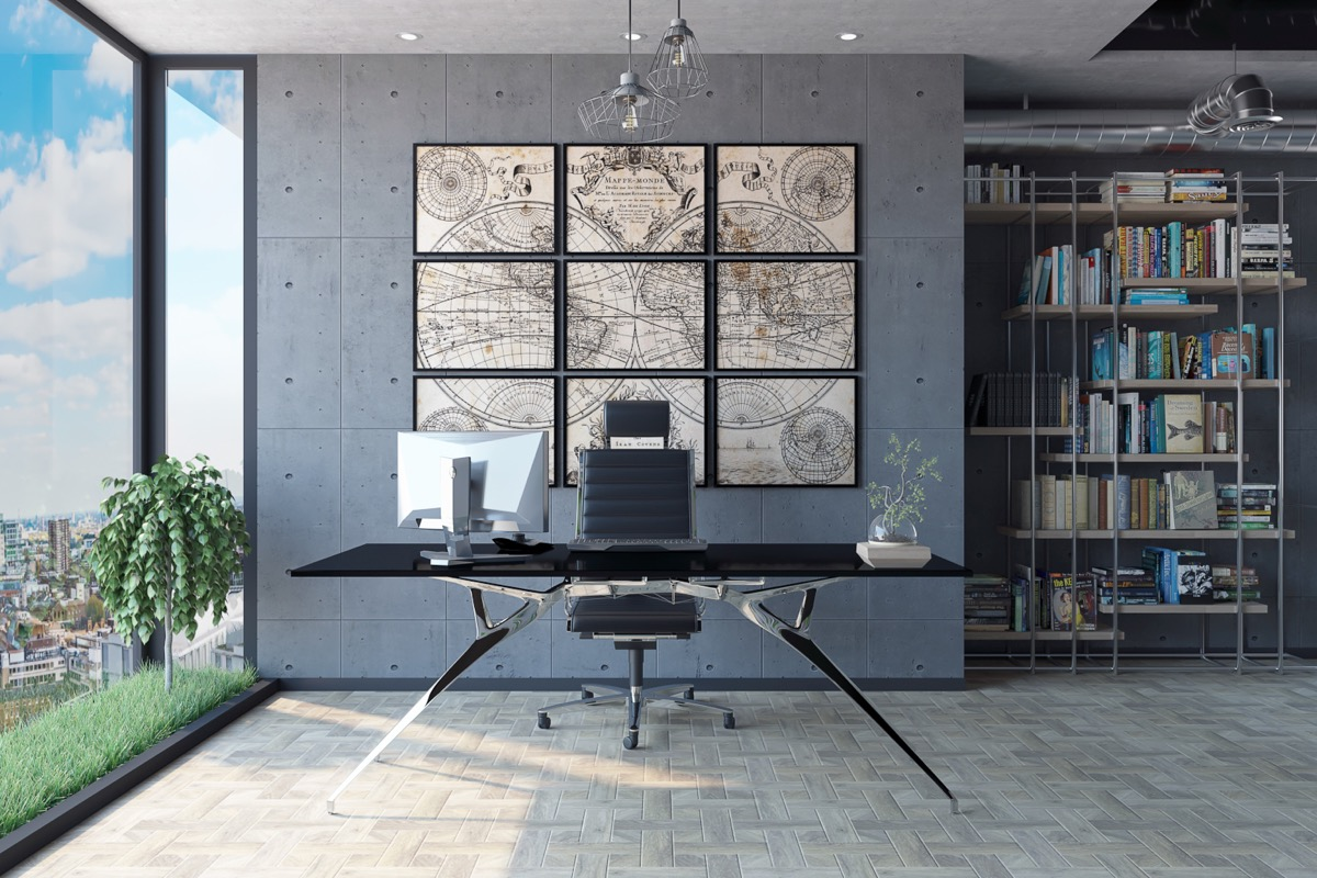 industrial-home-office-decor