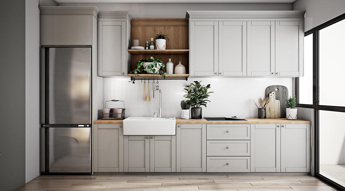 light-grey-and-white-kitchen