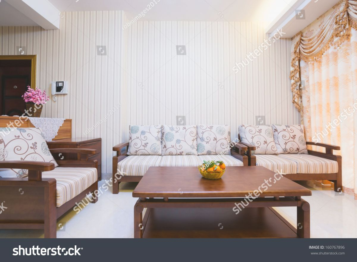 Living Room Chinese Decoration Stock Photo (Edit Now) 160767896 within Chinese Living Room Decor