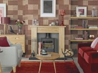 Living Room Wallpaper – Wallpaper For Living Room – Grey intended for New Wallpaper Decoration For Living Room