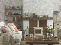 Living Room Wallpaper – Wallpaper For Living Room – Grey pertaining to New Wallpaper Decoration For Living Room