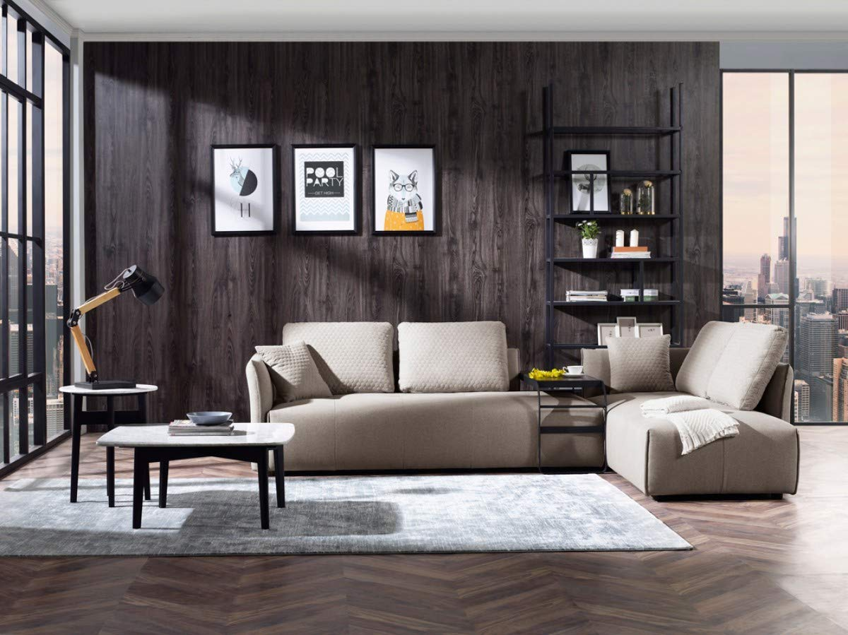 low-profile-contemporary-sectional-sleeper-sofa - Awesome Decors