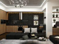 matte-black-brick-kitchen